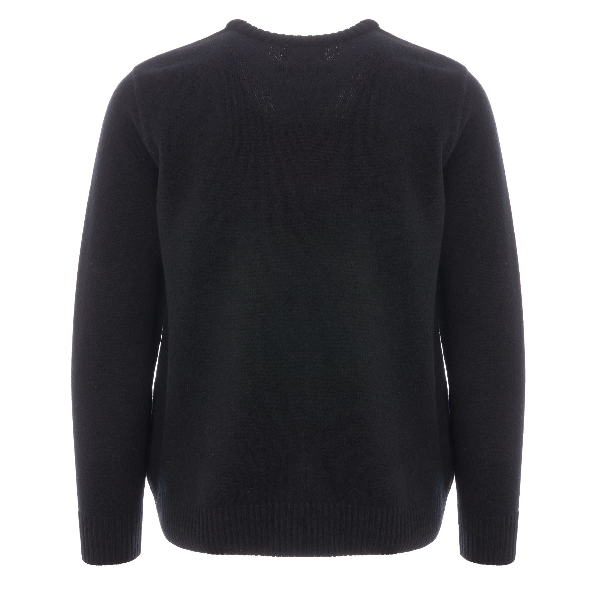 baebf5ce3ac45 Made In England Crew Neck Jumper - Black