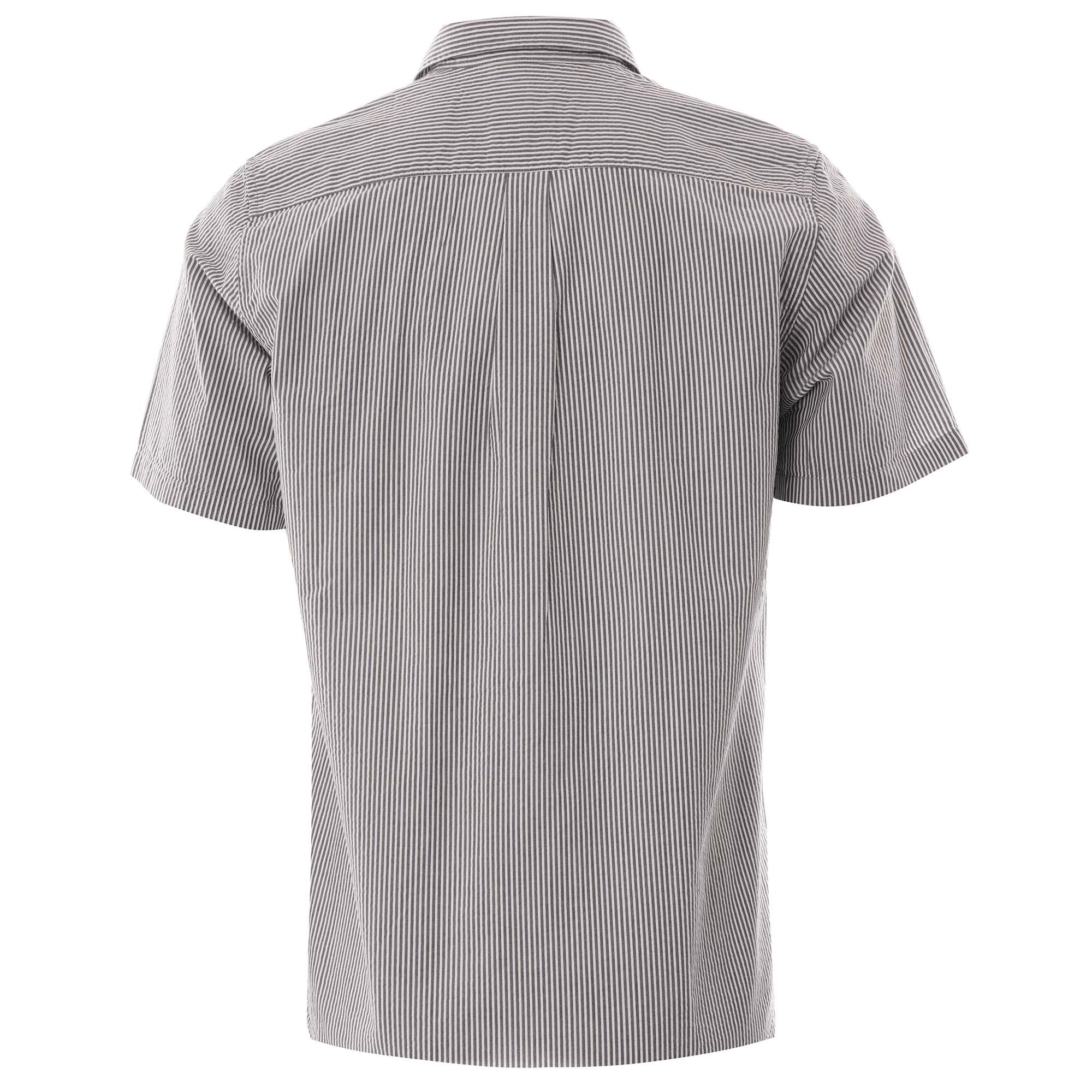 Navy Stripe All Sizes Norse Projects Osvald Seersucker Mens Shirt Short Sleeve