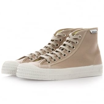 Novesta Star Dribble Platan Canvas Hi Top Shoes 729337