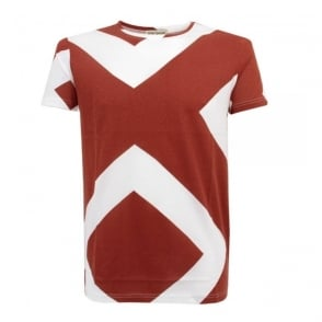 Oliver Spencer Diamond Red Tee OSK348