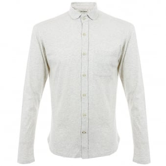 Oliver Spencer Jersey Oatmeal Shirt OSK450
