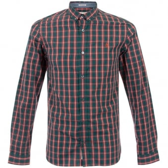 Original Penguin Atlantic Deep Check Shirt OPWF4009