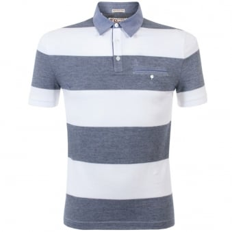 Original Penguin Birdseye Bright White Polo Shirt OPK5342