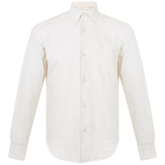 Our Legacy 1950s White Oxford Shirt 215350