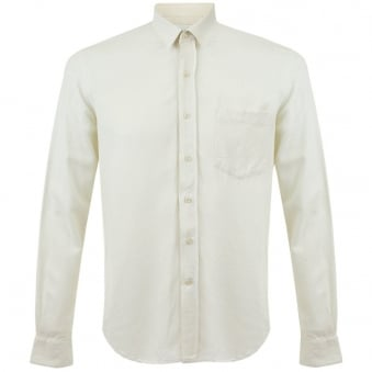 Our Legacy Classic White Silk Shirt 2153CSWSEM
