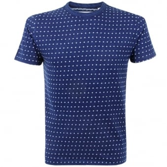 Our Legacy Indigo Jacquard Perfect T-Shirt 1157PTBJD