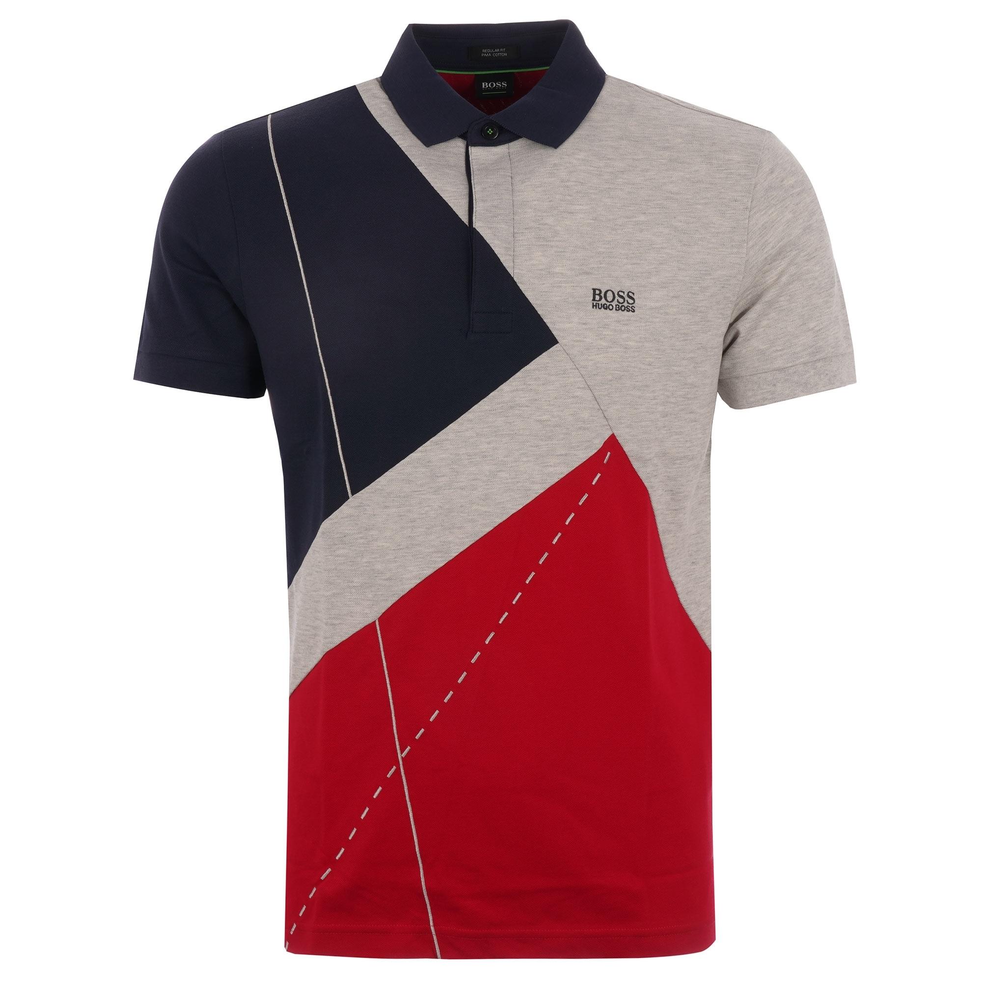 1ff293ef9 BOSS Paddy 6 Polo Shirt | Navy | 50404131