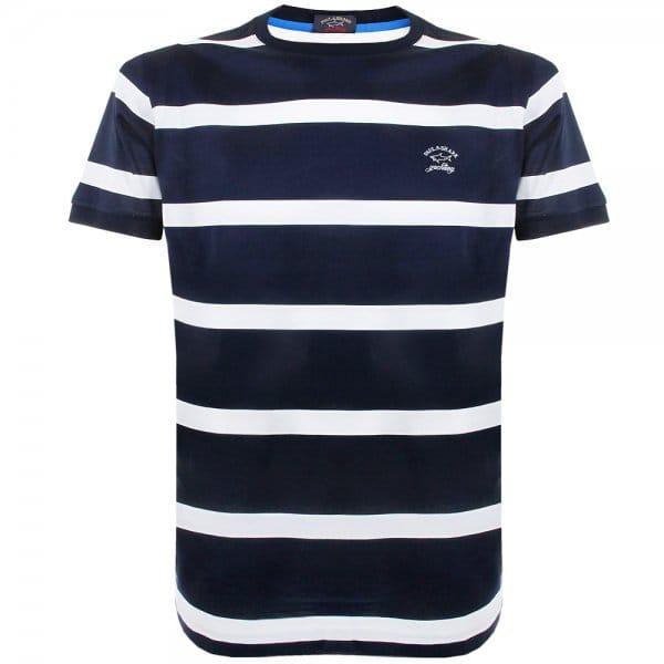 mens navy stripe t shirt - ShopStyle