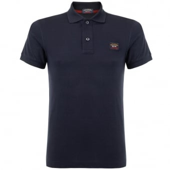 Paul & Shark Pique Navy Blue Polo Top 12P0942SF