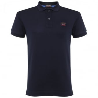 Paul & Shark Pique Navy Polo Shirt C1P11098SFI