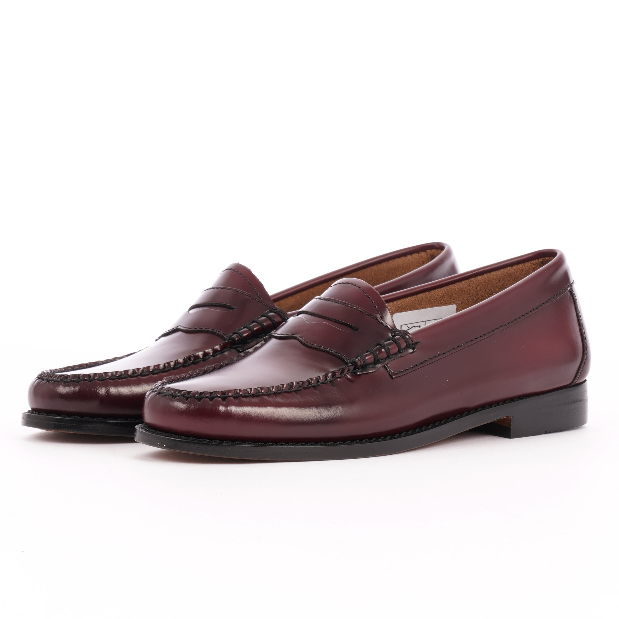 Bass Weejuns Womens Penny Loafer   Wine Leather   BA41010ONN