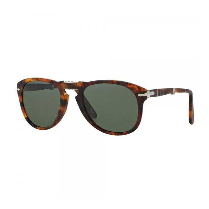 92cea3b2a1ce Persol 714 Caffe Light Tortoise Foldable Sunglasses PO0714 108 58