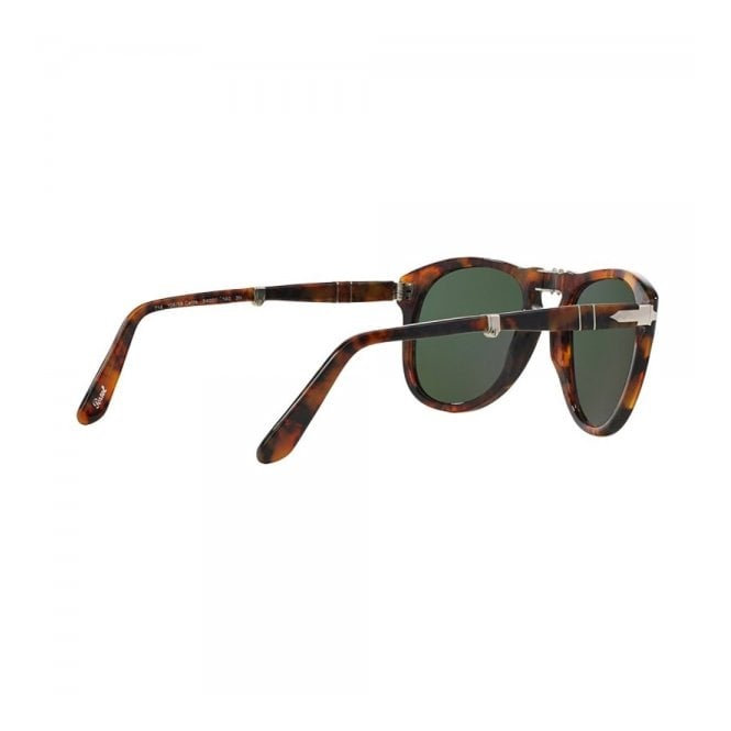 b793a248e43 Persol 714 Caffe Light Tortoise Foldable Sunglasses PO0714 108 58