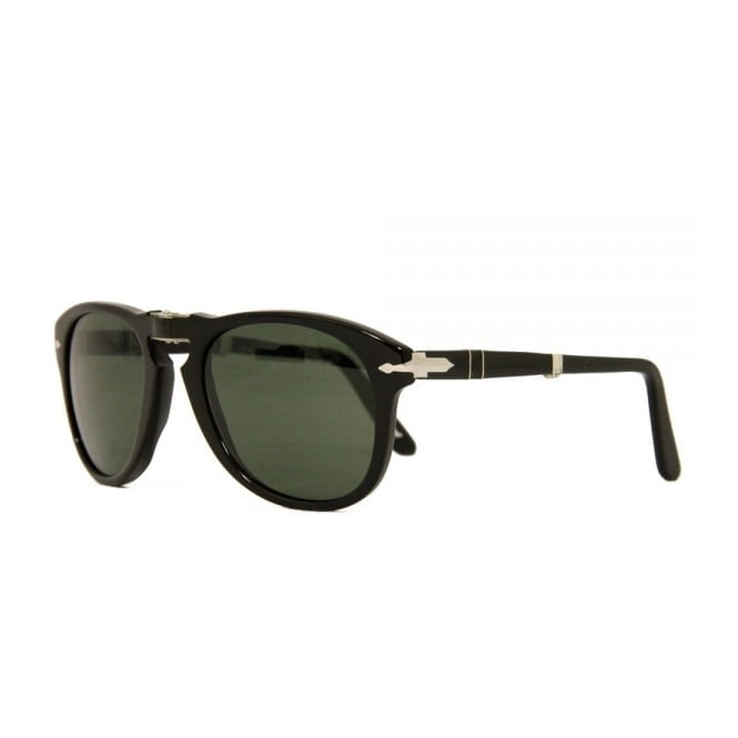 795efad315 Persol 714 Foldable Black Sunglasses 95 5852
