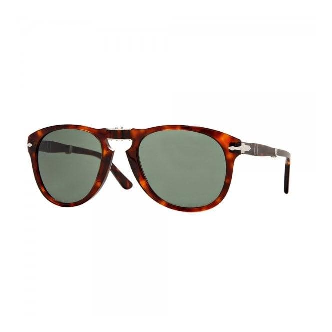2efb240ae078 Persol 714 Havana Tortoise Foldable Sunglasses 0PO0714 24/31