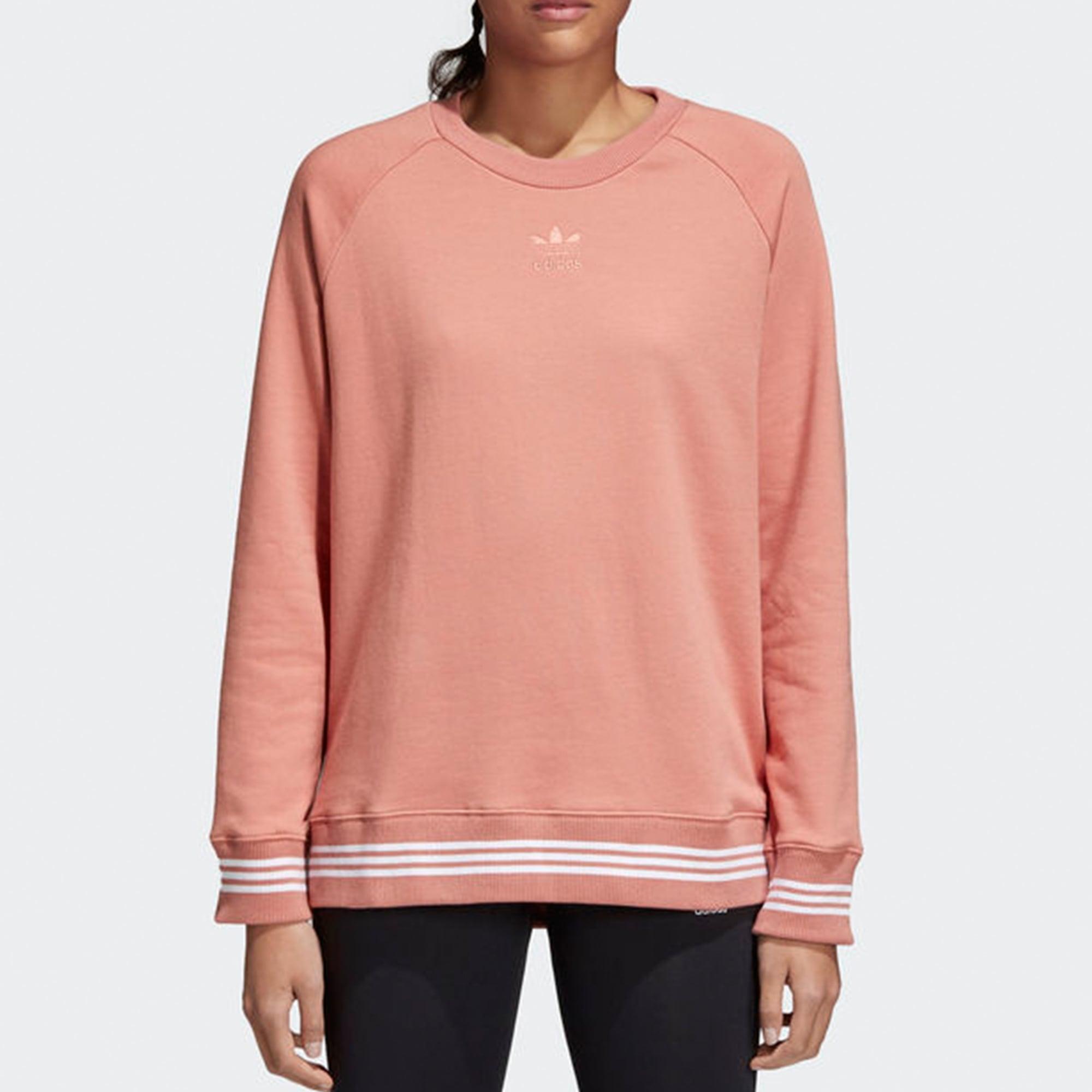 b28ed985945491 Adidas Originals Pink Womens Sweatshirt | Stuarts London | CD6903
