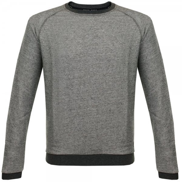 Hugo Boss Charcoal Marled Sweatshirt 50297398