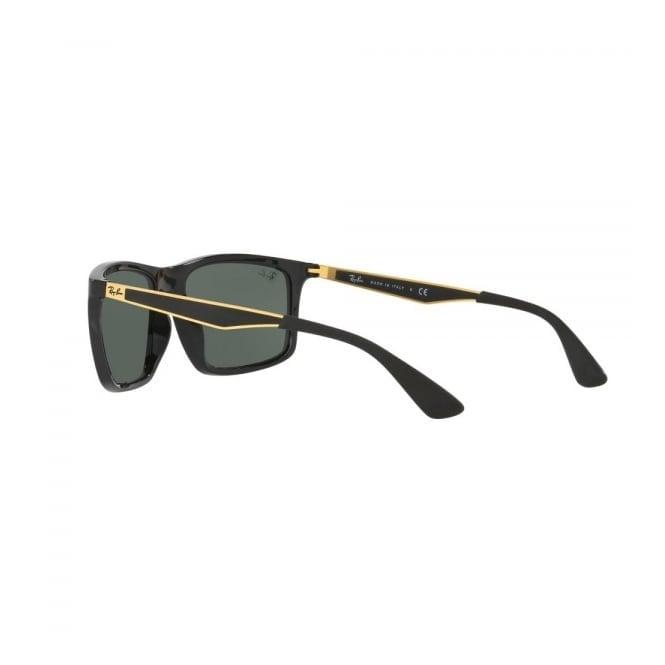 0447a5e448ceb Black  amp  Gold RB4228 Sunglasses - Green Classic Lenses