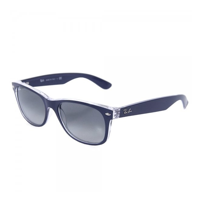 bc44d8bbad Ray Ban New Wayfarer Colour Mix Blue Sunglasses 0RB2132-605371