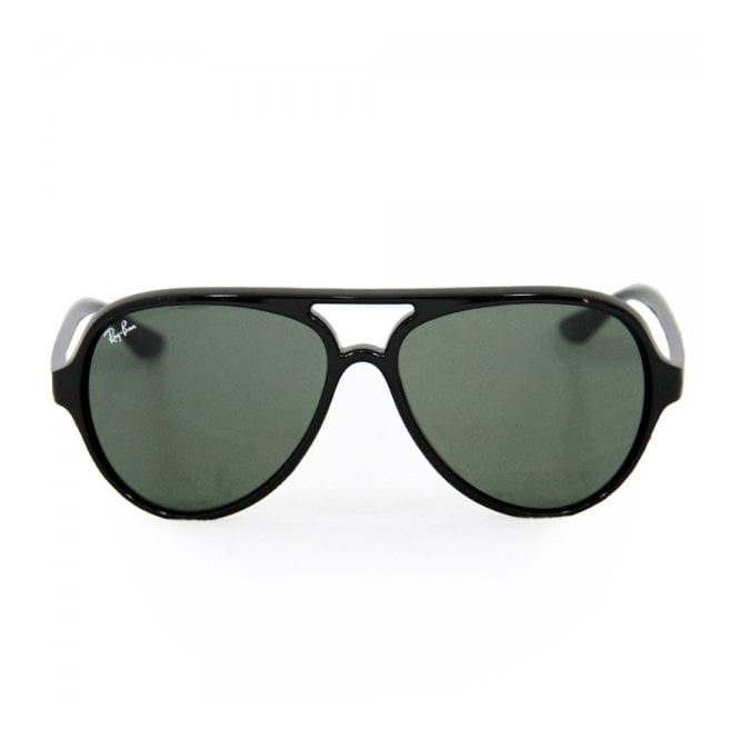 466cfc56c83 ... wholesale ray ban cats 5000 black sunglasses rb4125 92548 7fe06 ...