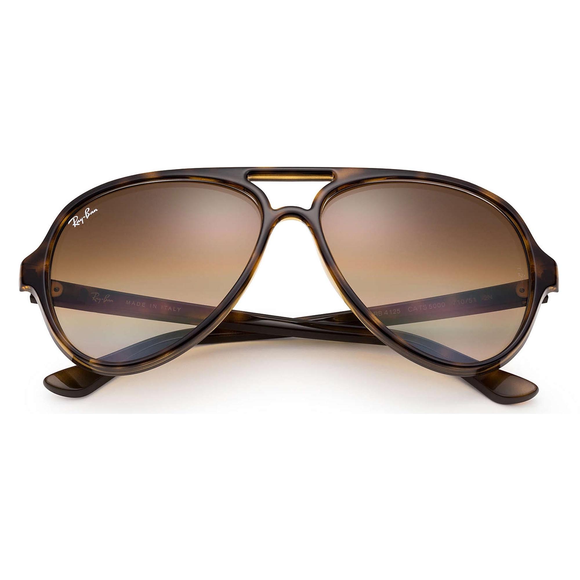 Tortoise Cats 5000 Classic Sunglasses - Light Brown Gradient Lenses 01ae7554ad
