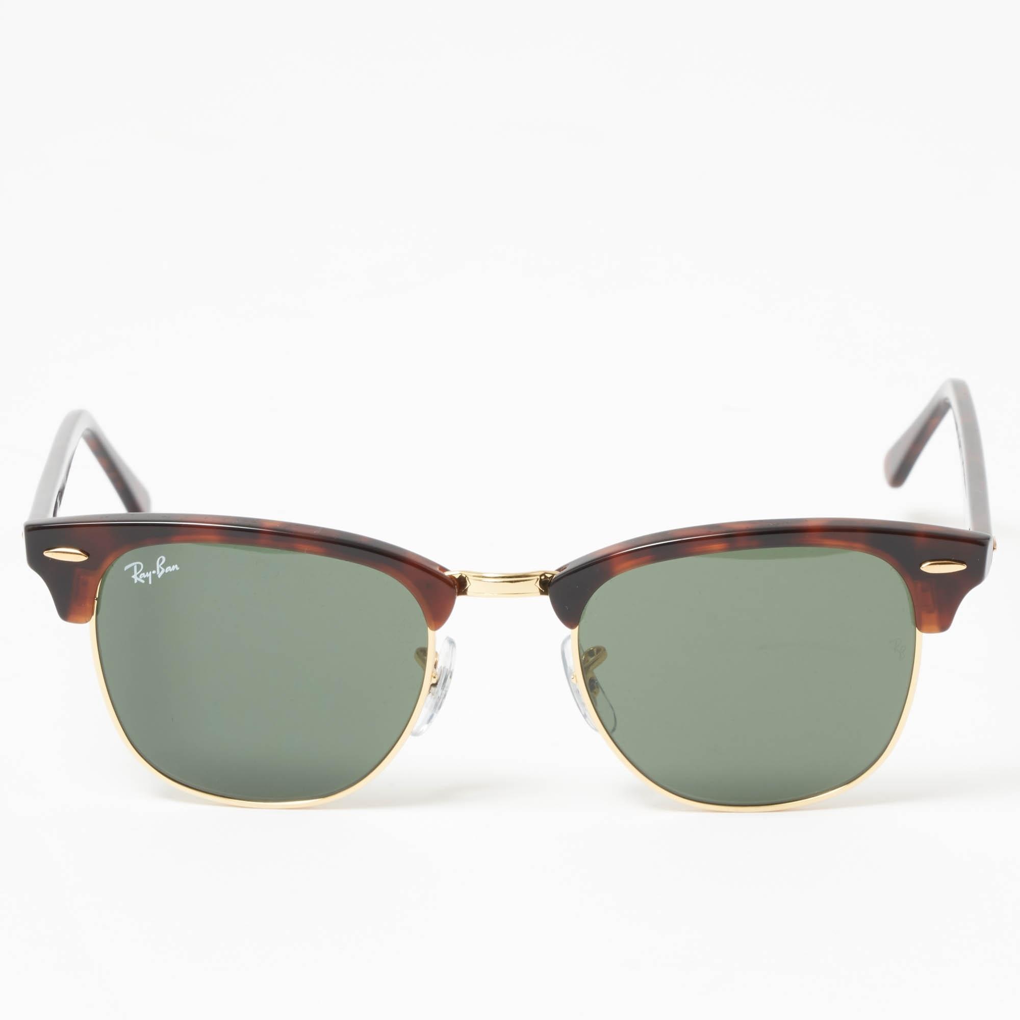 c5c4cd23afb Ray Ban Tortoise Classic Clubmaster Sunglasses - Classic G15 lenses