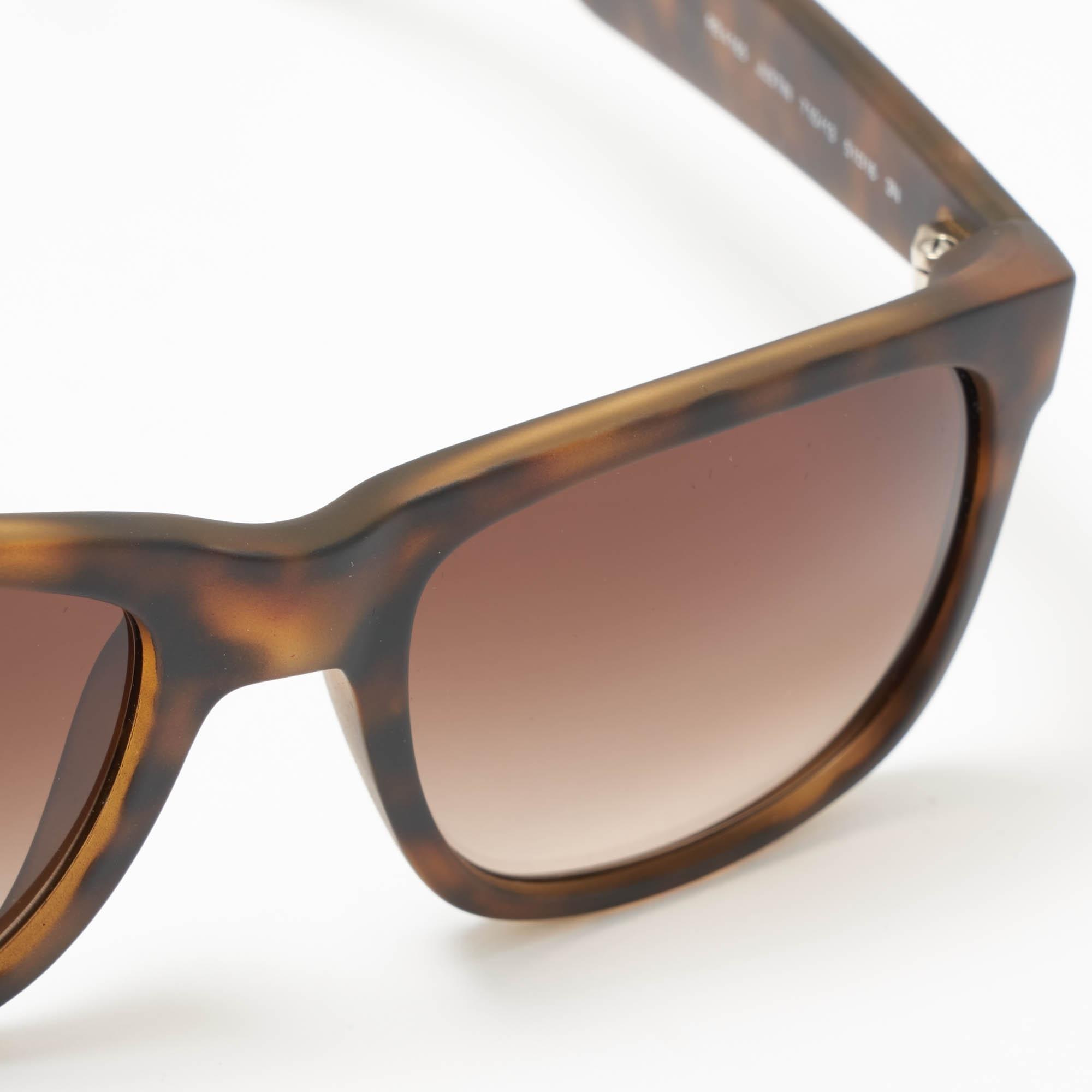 08e1df219a Tortoise Justin Sunglasses - Brown Gradient Lenses
