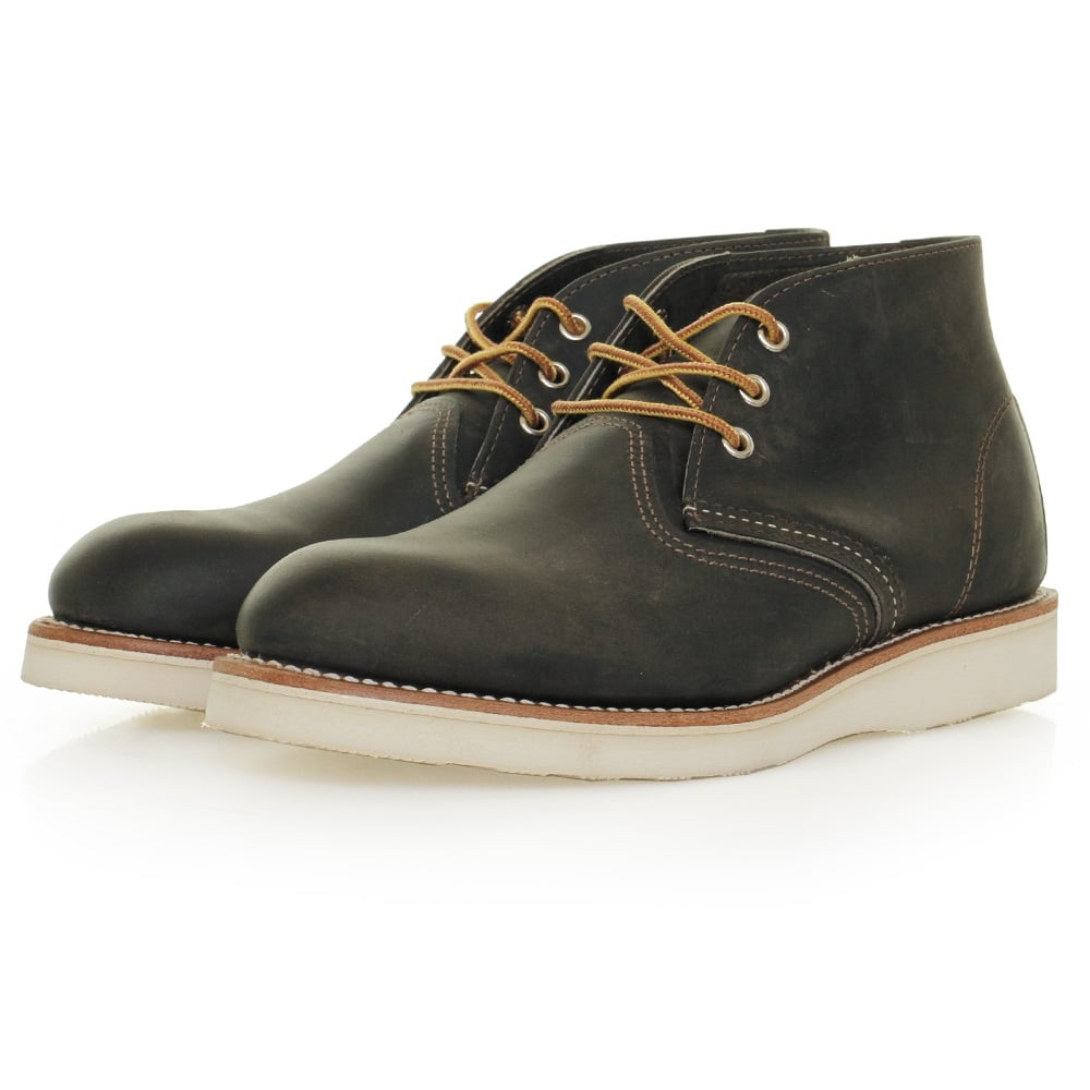 Red Wing Classic Chukka Boot Charcoal