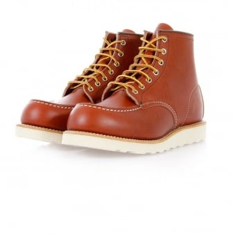 Red Wing Classic Moc Toe Russet Boot 08131-3