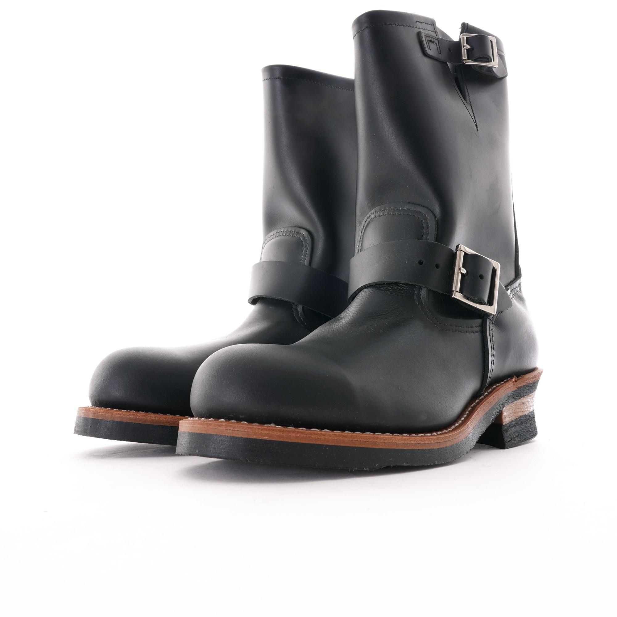 Engineer Boots , Black