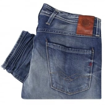 Replay Anbass Light Wash Denim Jeans M91464
