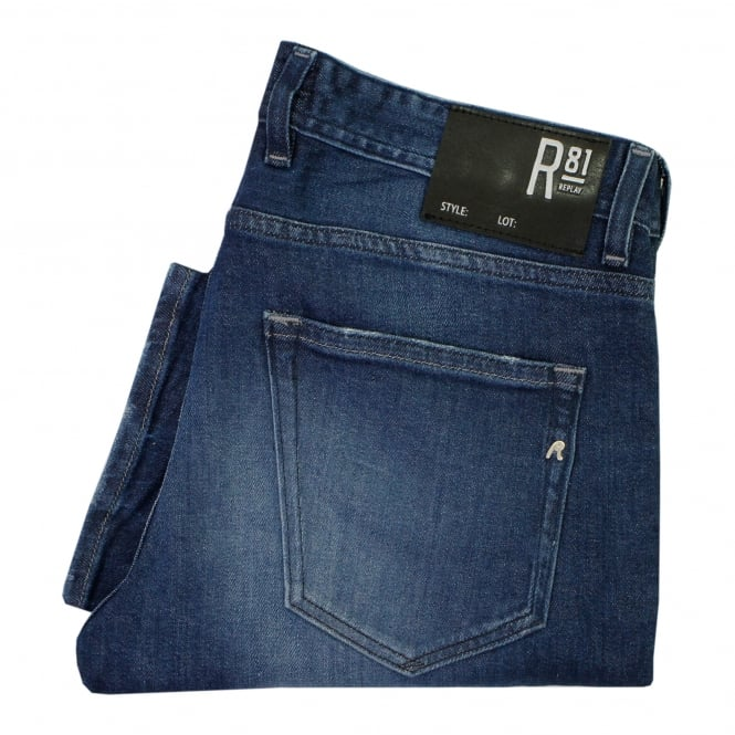 Replay Jeans Replay Grover Laser Indigo Denim Jeans MA972