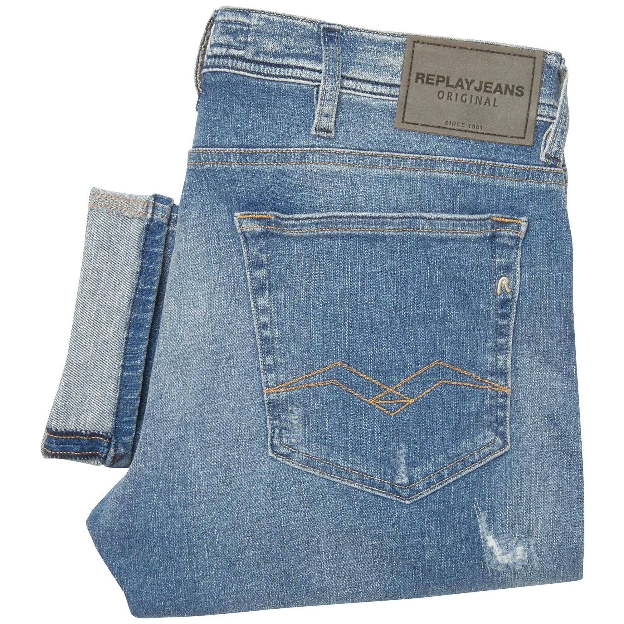 68818858a Replay Jeans Jondrill Skinny Fit Jeans MA931.000.19C 962