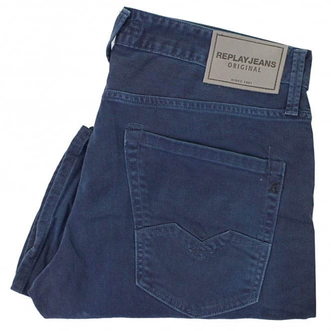 Replay Jeans Waitom Navy Jeans M983.030N