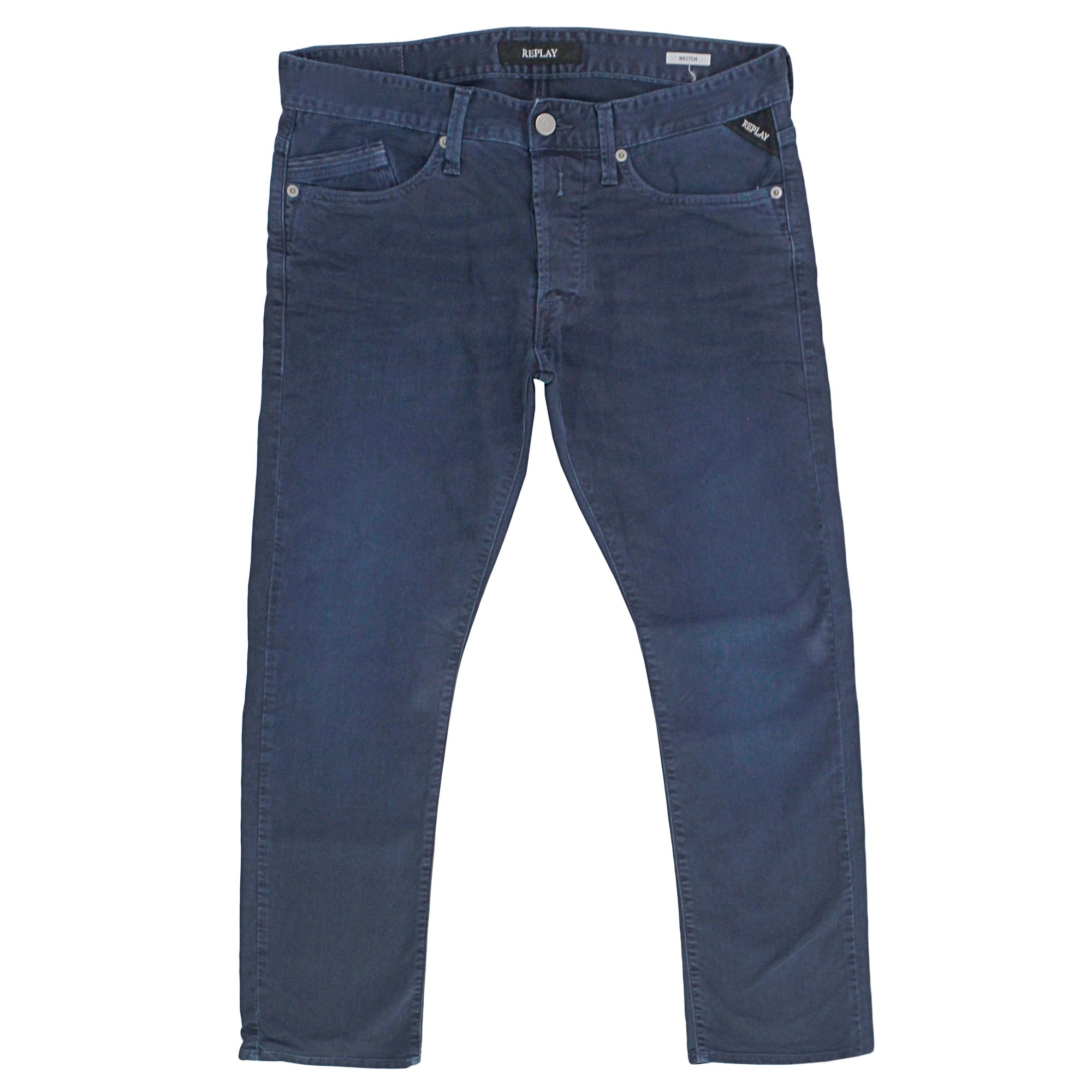replay jeans online store waitom navy jeans. Black Bedroom Furniture Sets. Home Design Ideas