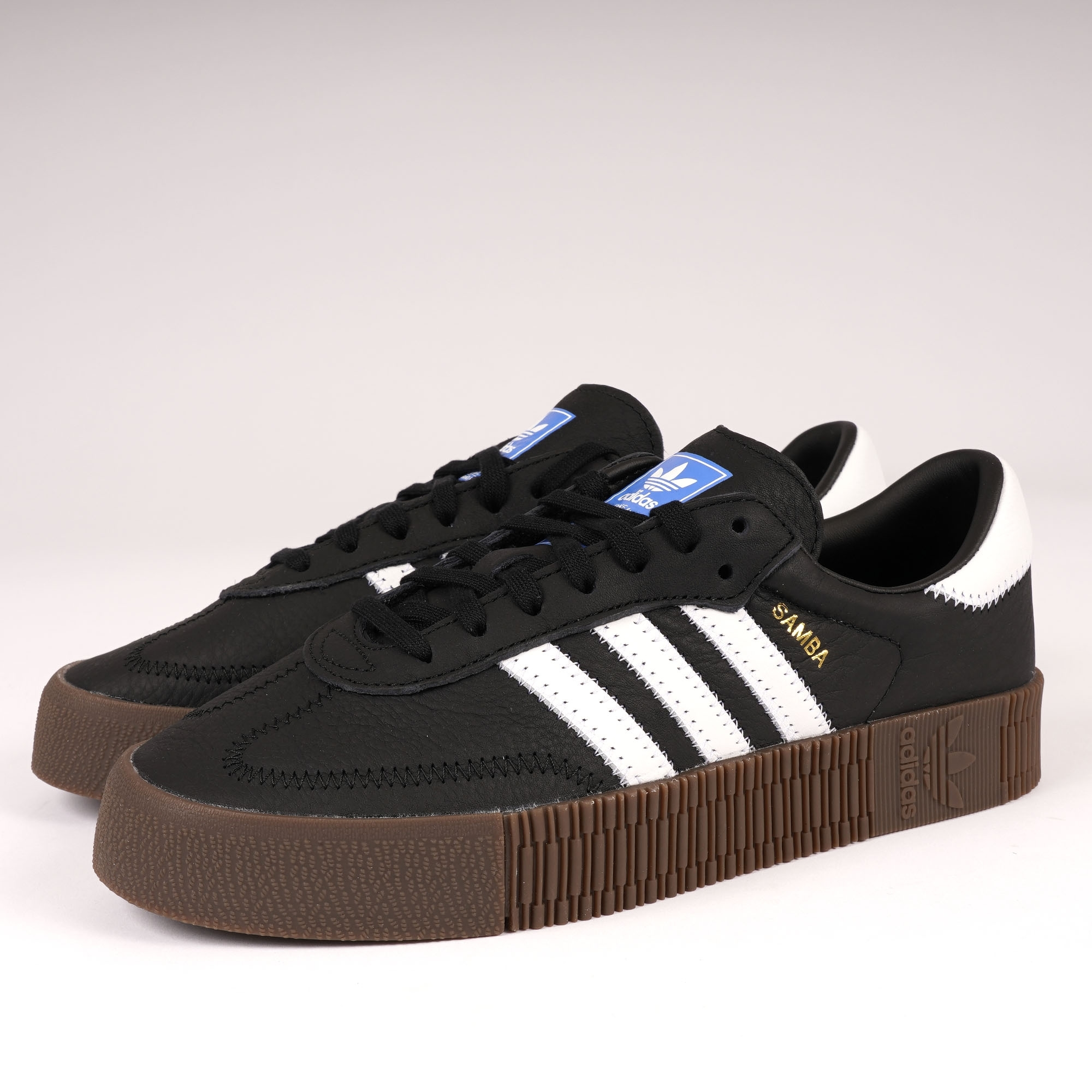 884d37ad99 adidas Originals Womens Sambarose | Core Black | B28156