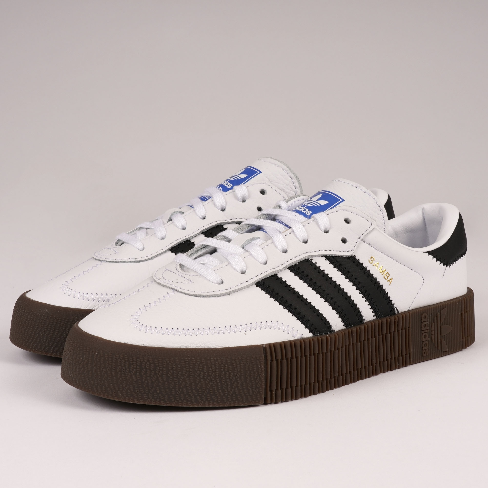 4cd7cae4ae adidas Originals Womens Sambarose | White | AQ1134