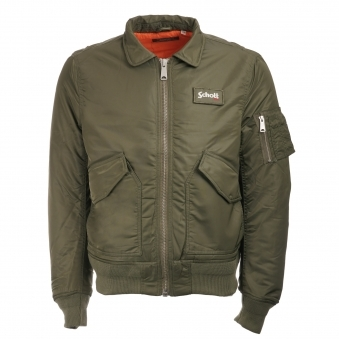 Schott CWU-R Khaki Bomber Flight Jacket 210100