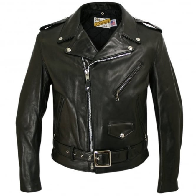 Schott NYC Classic Perfecto 118 Leather Motorcycle Jacket
