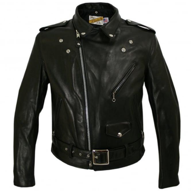 7b44eaa8c06 Schott NYC Classic Perfecto 118 Leather Motorcycle Jacket