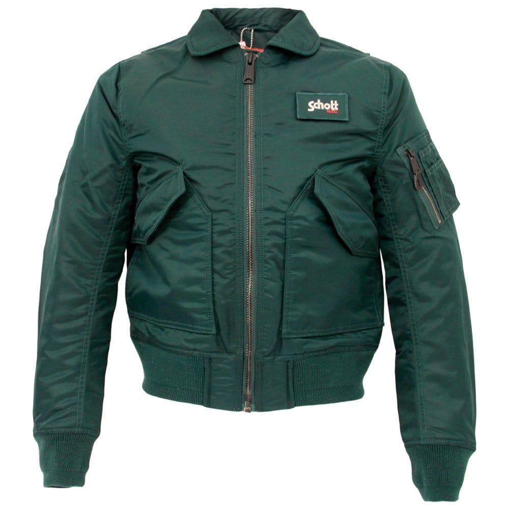 schott nyc cwu r green bomber flight jacket 210100. Black Bedroom Furniture Sets. Home Design Ideas
