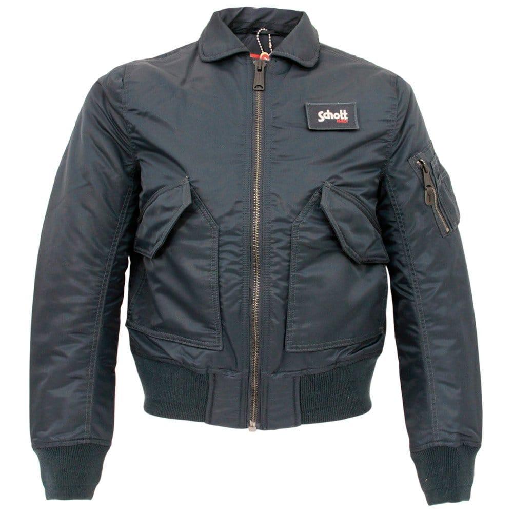 schott nyc cwu r navy bomber flight jacket 210100. Black Bedroom Furniture Sets. Home Design Ideas