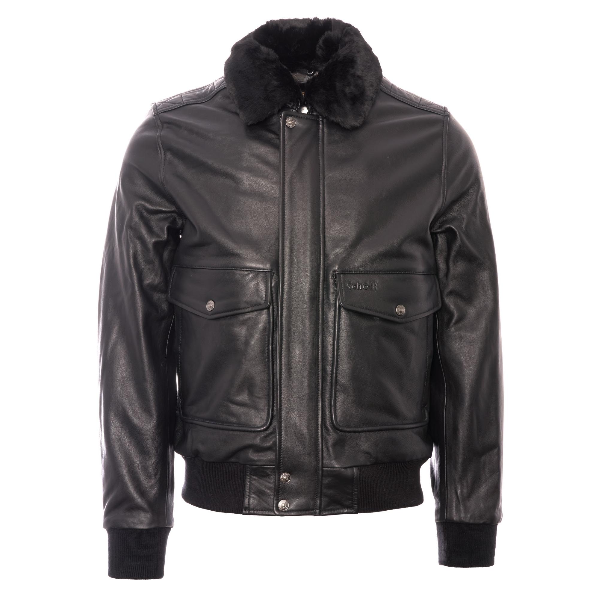 Jackets schott for men leather Schott Bros
