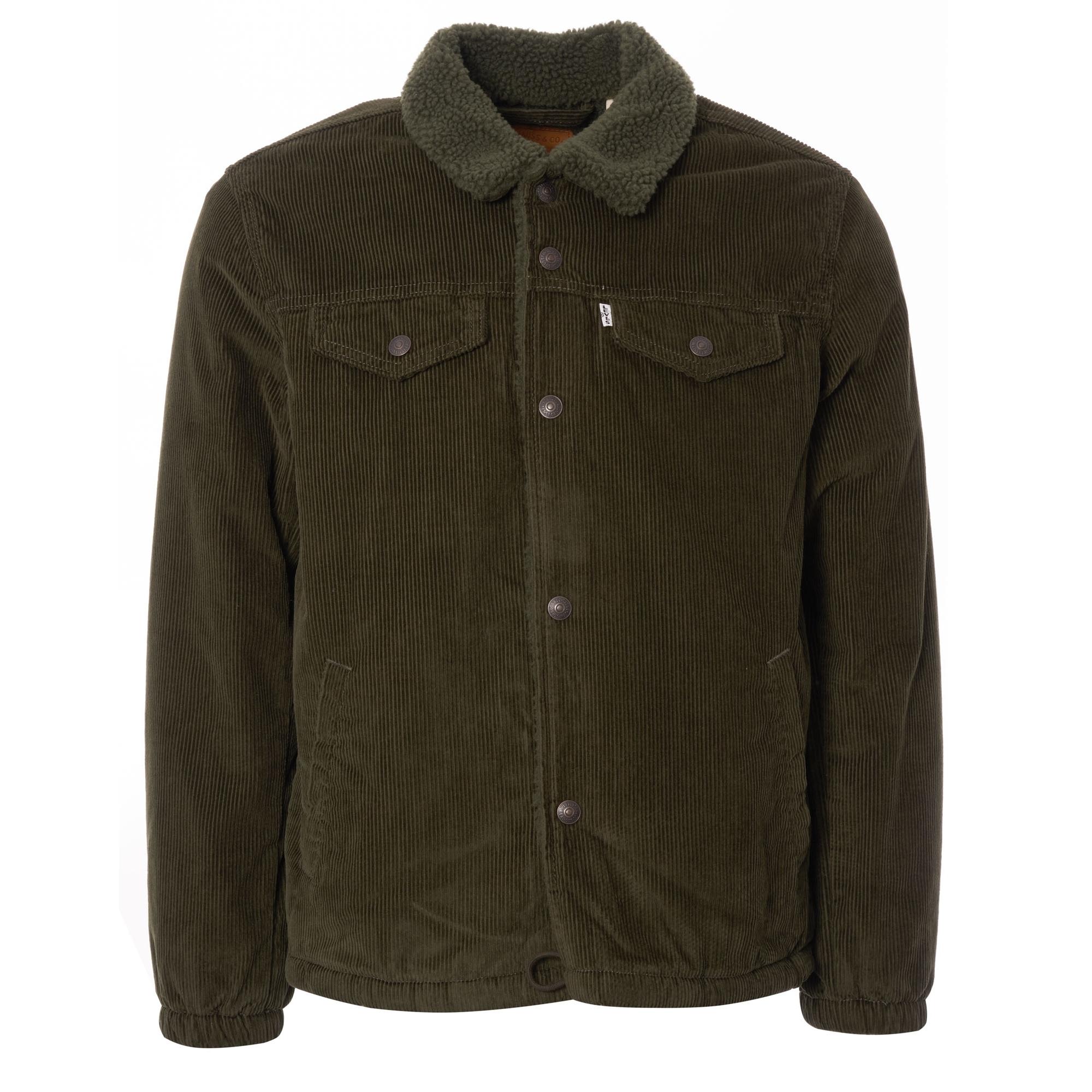 16c3d41ada7 Levis sherpa trucker jacket green corduroy jpg 2000x2000 Levis sherpa  trucker jacket