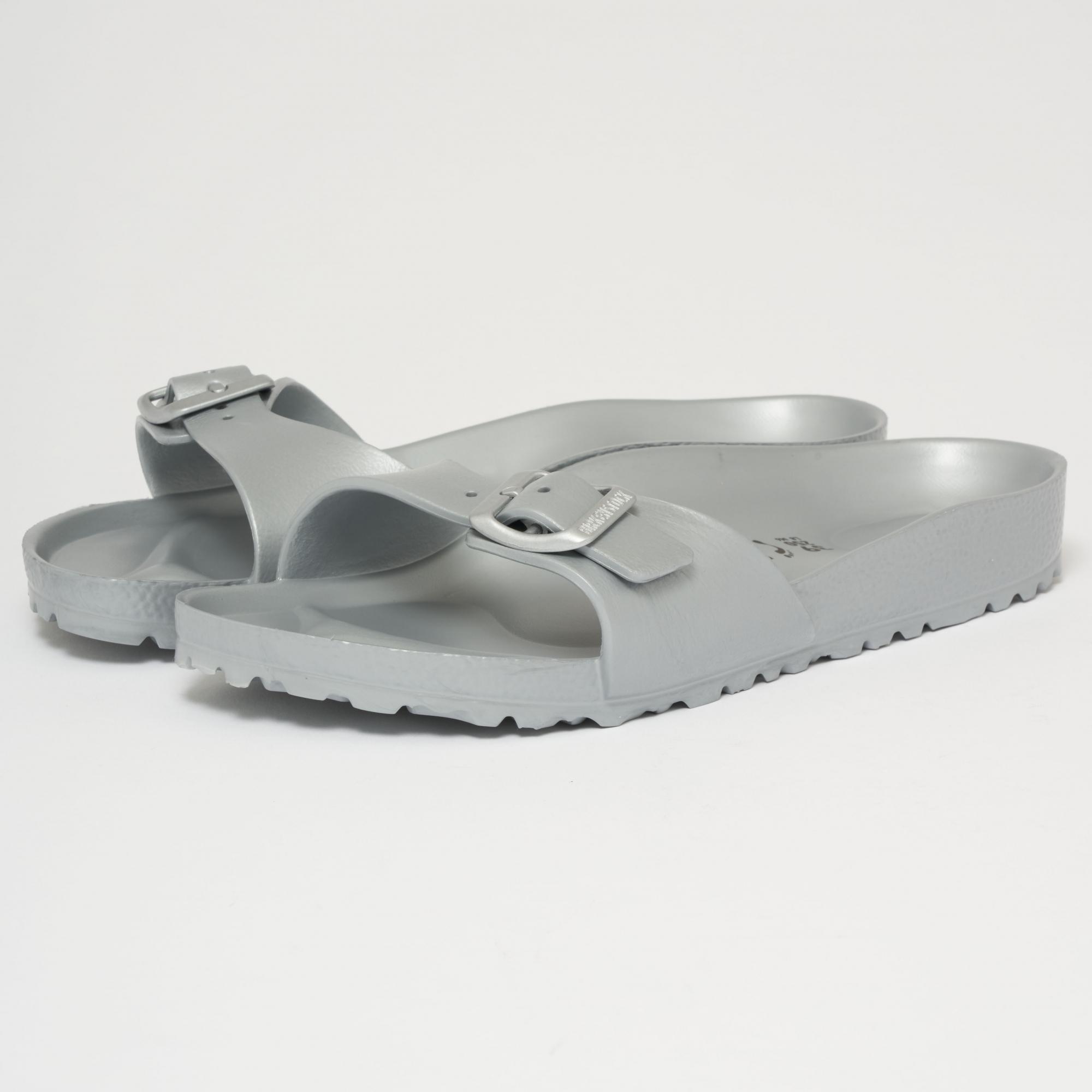 cc4fb14d680a06 Birkenstock Silver Madrid EVA Sandals