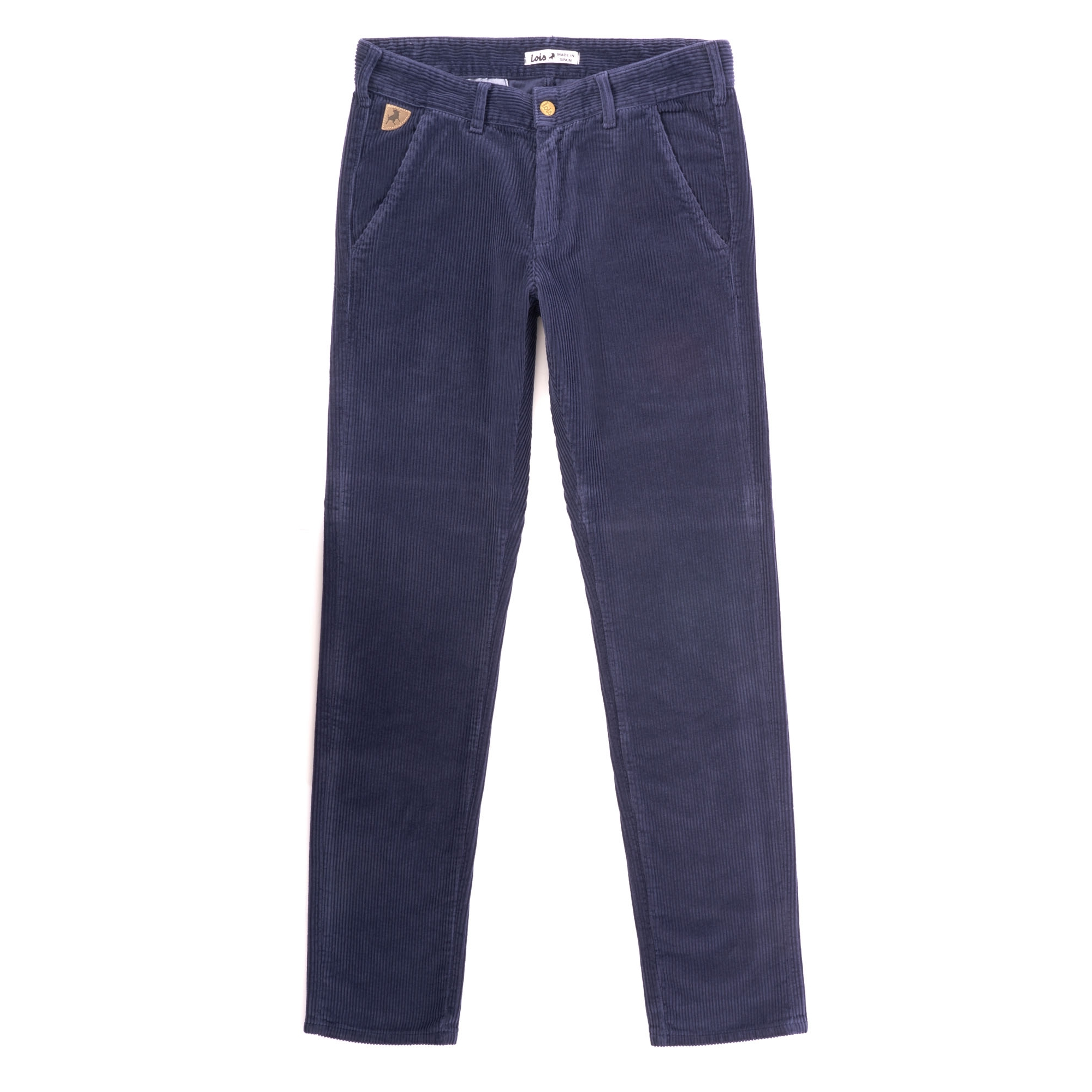8ff9324c Lois Jeans Sixto Jumbo Cord Trousers | Nightwatch Blue | 5685