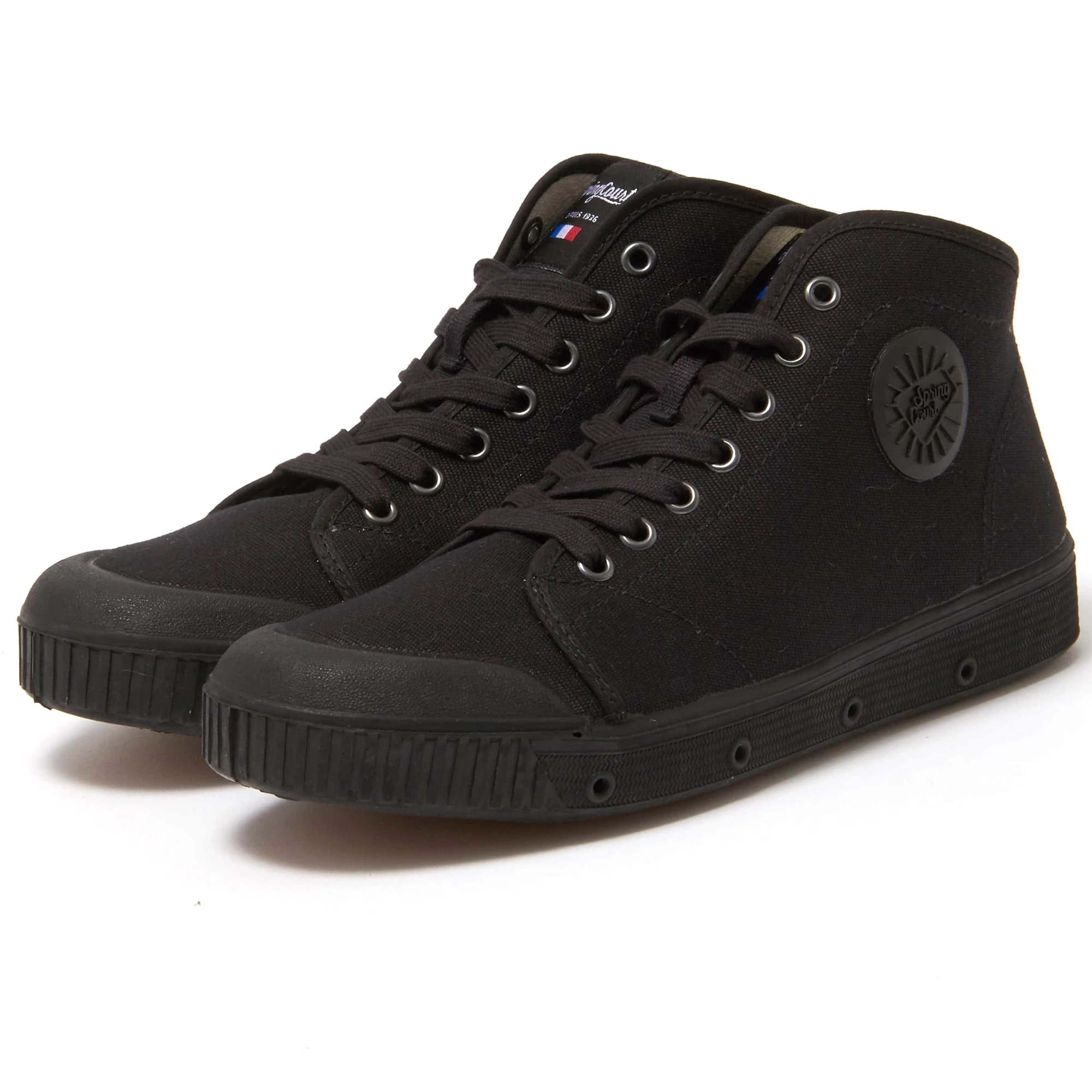 Spring Court B2 Canvas Shoe   Black
