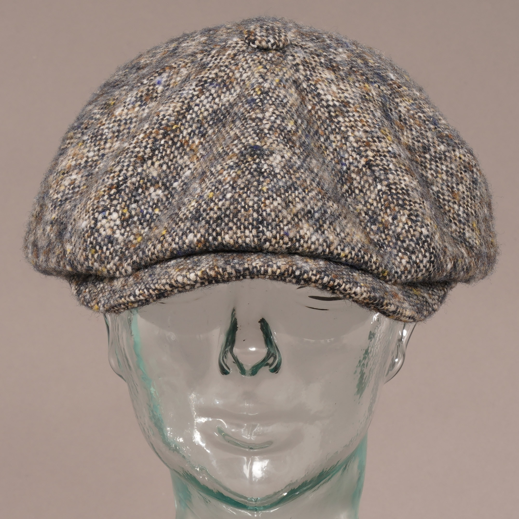 Stetson Hats Hatteras Donegal Wool Newsboy Cap - Image Of Hat 6c56bfff857d