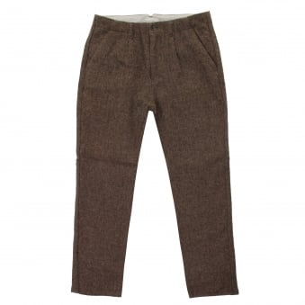 Still By Hand Moca Wool Trousers PT0563OS