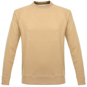 Still By Hand Raglan Camel Sweatshirt CS0363OS